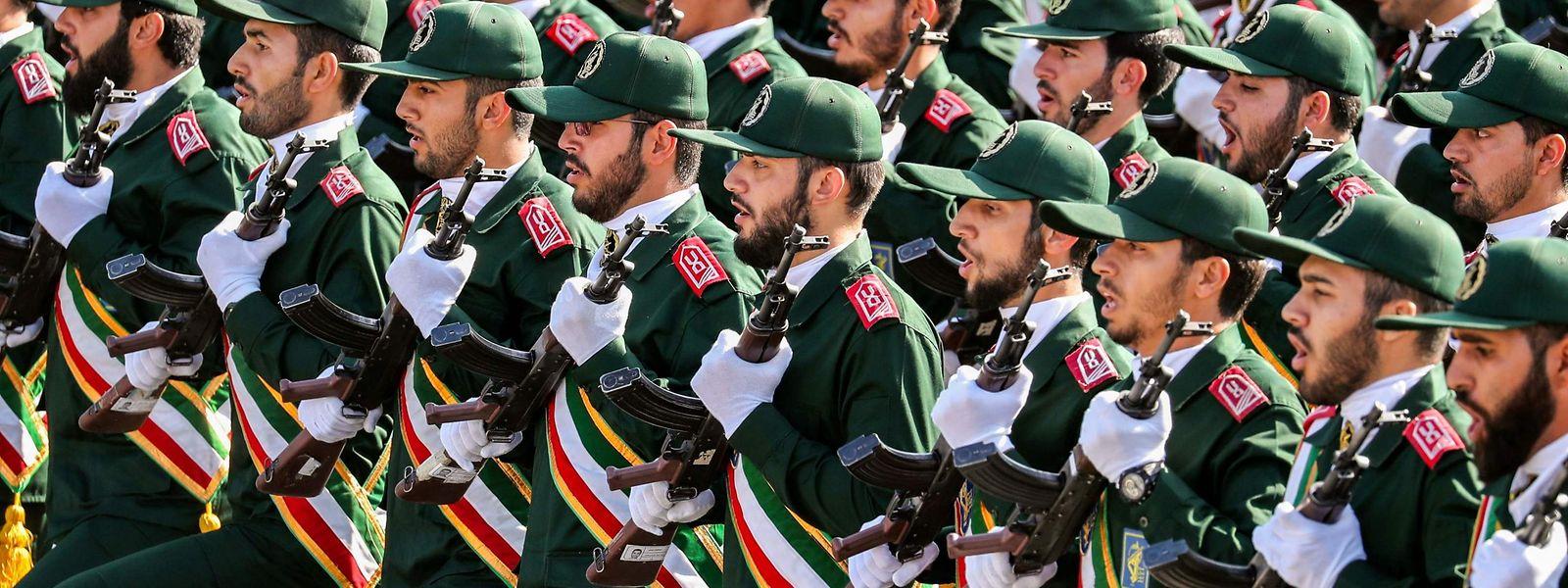 Angehörige der iranischen Revolutionsgarden.