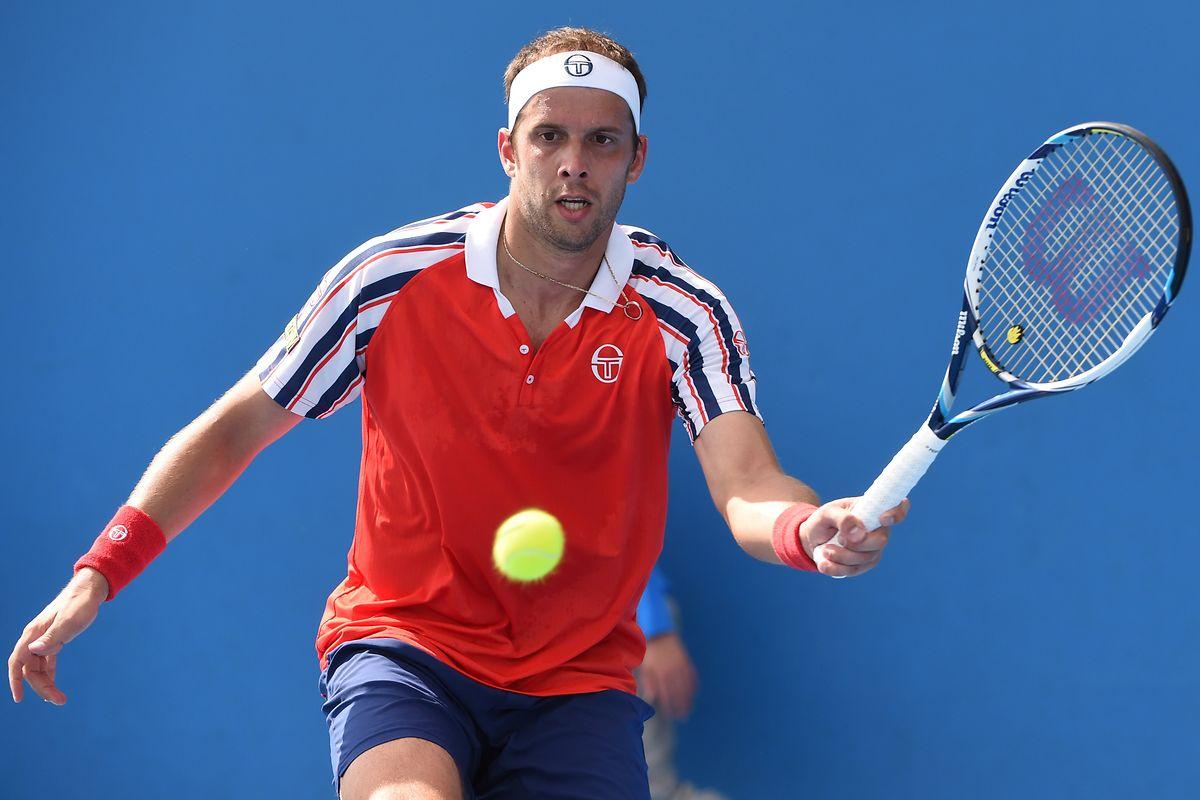 Gilles Muller erreichte im Jahr 2008 bei den US Open das Viertelfinale.