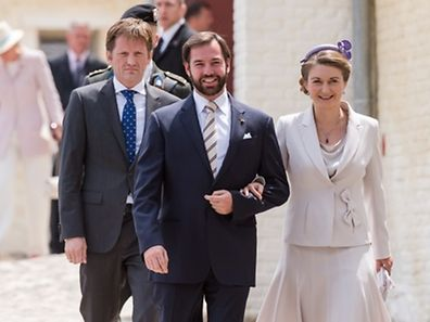 Luxemburger wort guillaume and st phanie celebrate three for Caa luxembourg