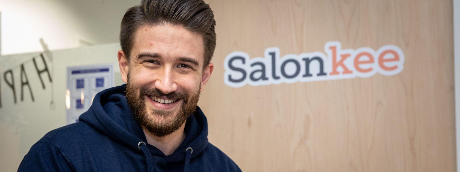 Mitbegründer und CEO von Salonkee: Tom Michels.