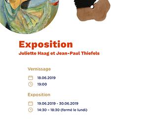 Exposition Juliette Haag et Jean-Paul Thiefels