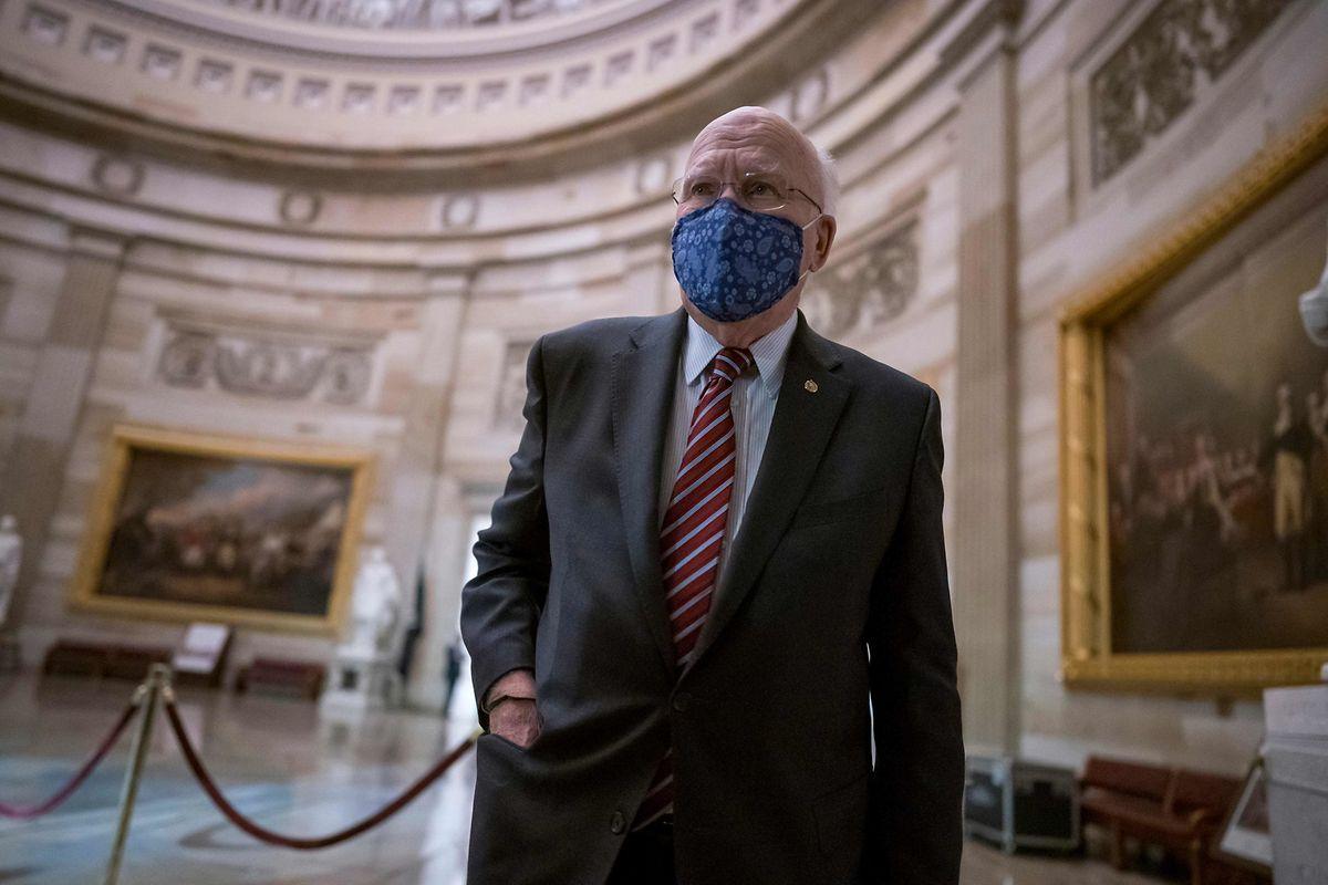 Der Demokrat Patrick Leahy aus Vermont ist der dienstälte Senator.