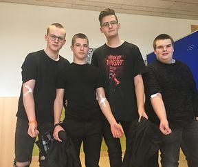 """Schüler des Lycée du Nord unterstützen """"Plooschter Projet"""""""