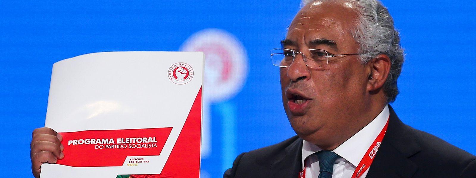 O primeiro-ministro português António Costa