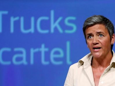 EU-Commissioner Margrethe Vestager is in charge of competition policy.