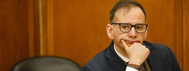 O secretário de Estado da Cultura, Miguel Honrado