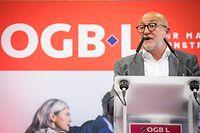 André Roeltgen et l'OGBL s'associent au LCGB et à la CGFP pour organiser une grande manifestation le 14 novembre
