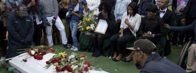 Ausgangspunkt der Unruhen war der Tod von Freddie Gray, der am Montag beerdigt wurde.