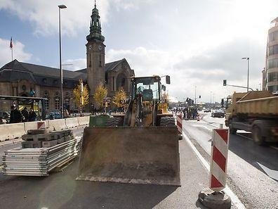 Am Bahnhof muss über das ganze Wochenende mit erheblichen Verkehrsbehinderungen gerechnet werden.