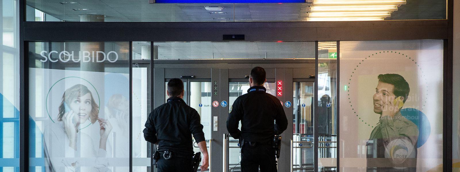 In Luxemburg gilt der Flughafen Findel heute als Außengrenze.