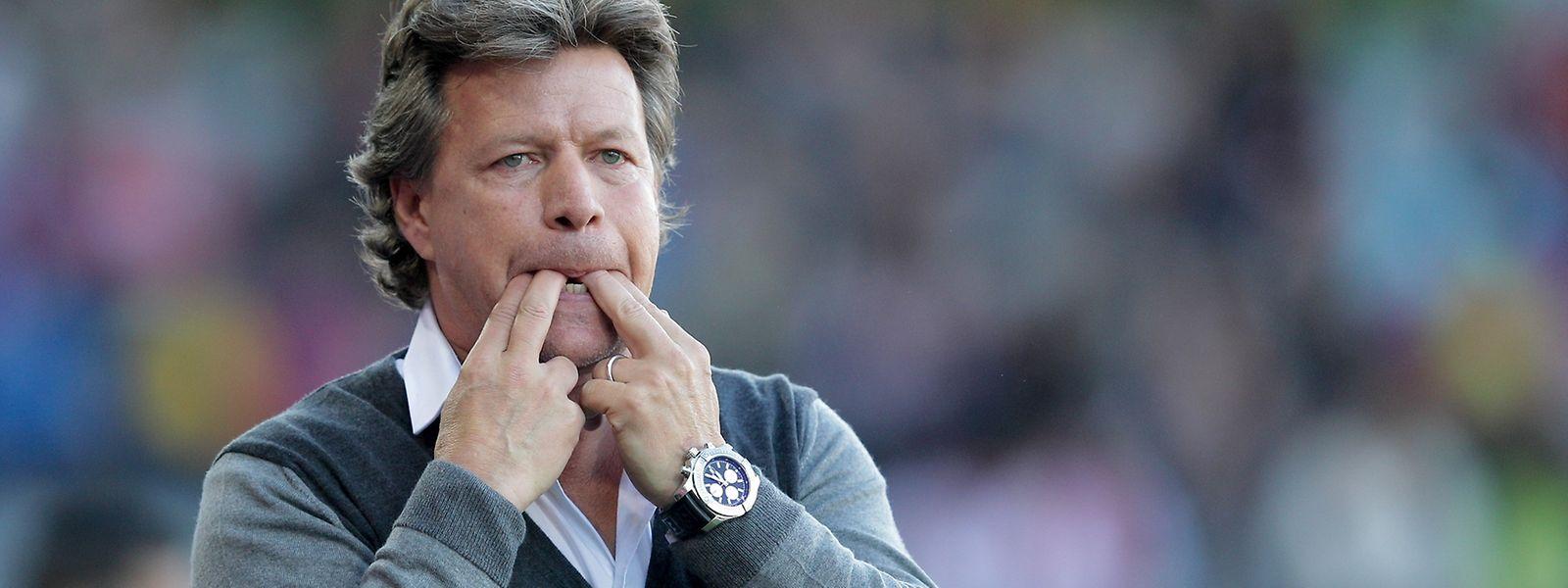 Nicht übermütig werden: Jeff Saibene (Trainer FC Thun) mahnt trotz guter Zwischenbilanz zu konzentrierter Arbeit.