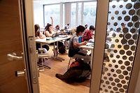 Norden, Clerf, Clervaux, Schulwesen, Lycée Eward Steichen, LESC, neues Gebäude photo Anouk Antony