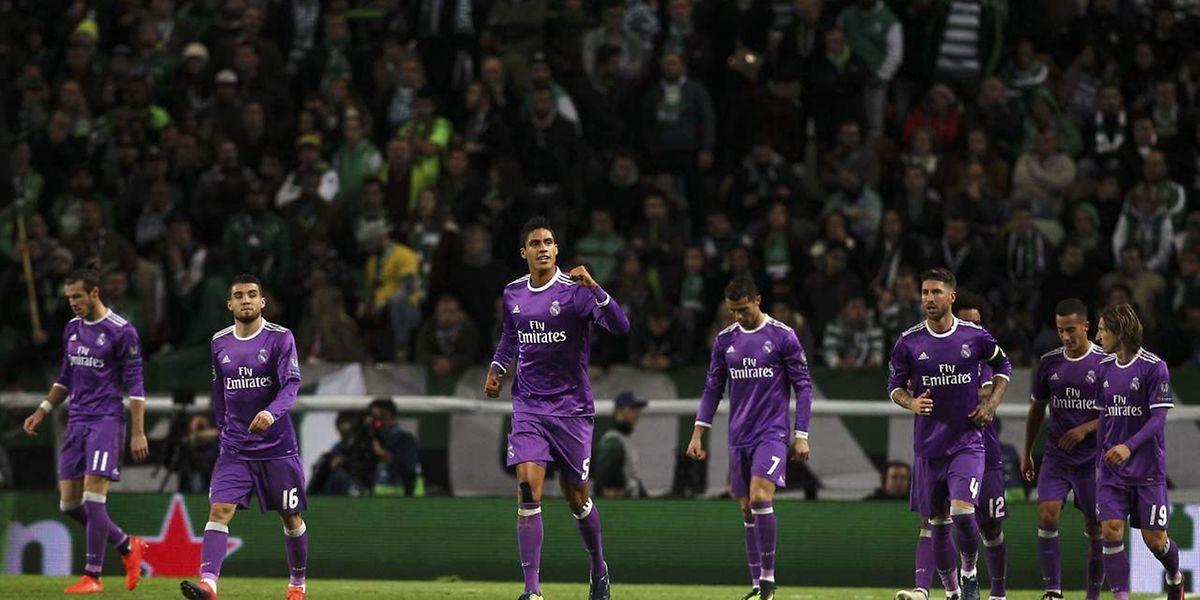 Le Real Madrid s'est qualifié au petit trot en s'imposant (1-2) au Sporting Lisbonne