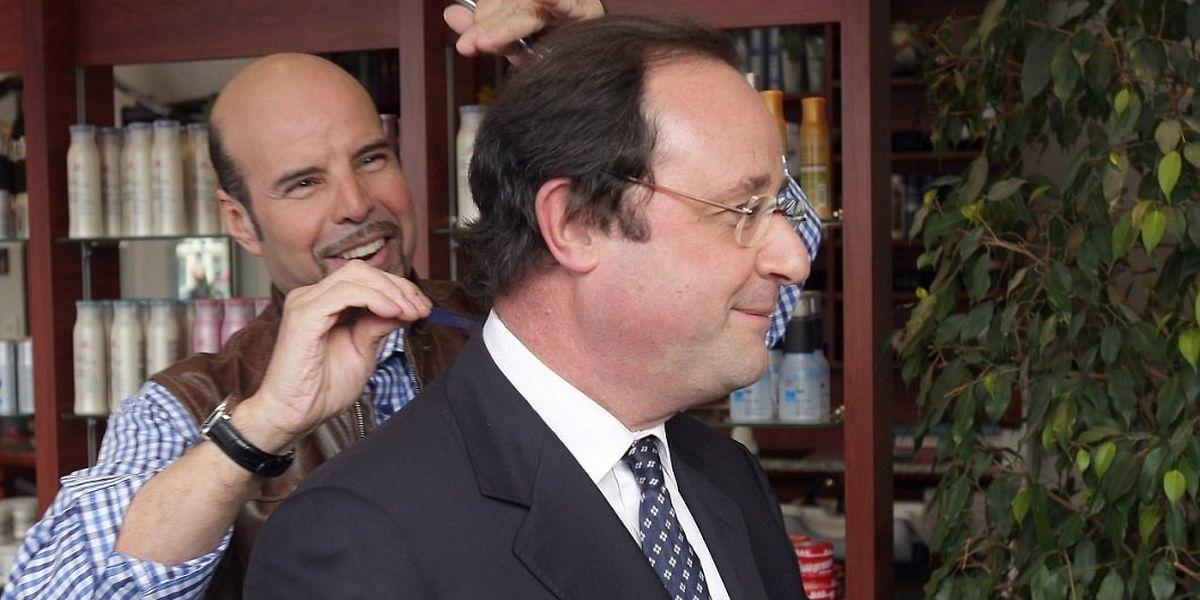 Frankreichs Präsident Lässt Sich Seine Frisur Etwas Kosten Waschen