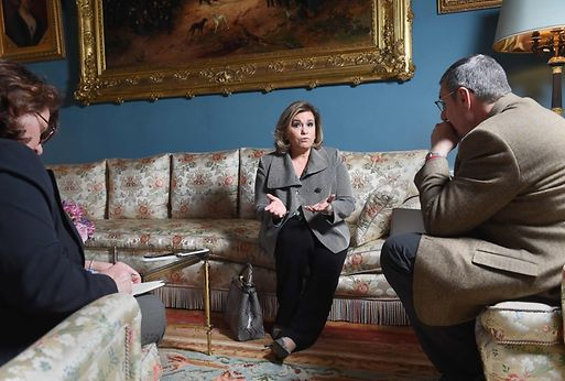 "The monarchy must adapt to the reality of his time and the operation of the grand ducal court to be more ""transparent"" and ""authentic"", said Grand Duchess Maria Teresa of Luxembourg"
