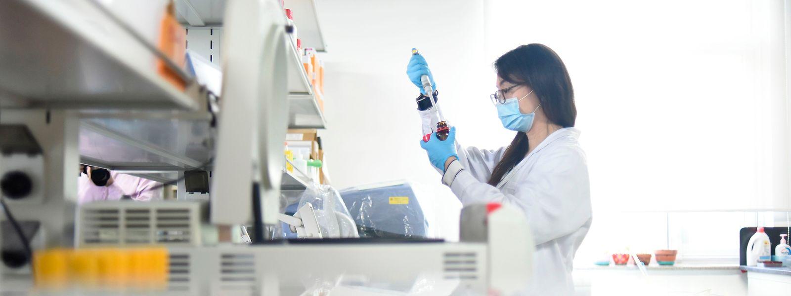 Weltweit liefern sich Pharmafirmen ein Rennen bei der Entwicklung eines Impfstoffes.