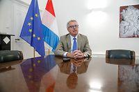Wirtschaft, Finanzministerium,ministère des finances, Pierre Gramegna ,classement des banques    Foto: Anouk Antony/Luxemburger Wort