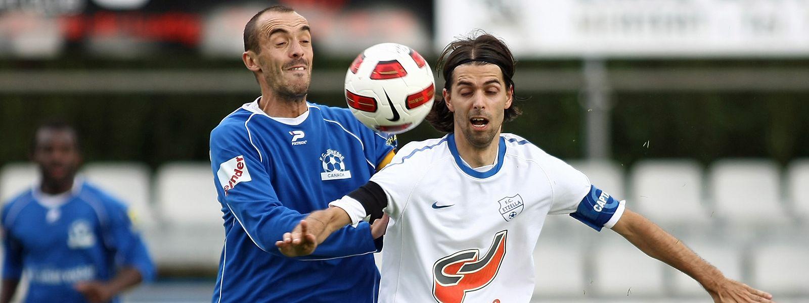 Carlos Ferreira, à l'époque d'Etzella, a disputé les quatre dernières saisons avec l'US Feulen.
