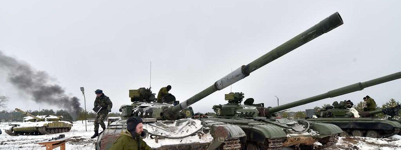 Ukrainische Soldaten.