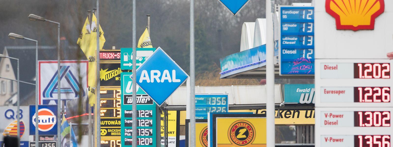 Les stations-service situées près des frontières ont été les plus impactées par la crise sanitaire