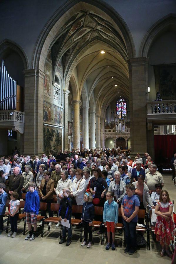"""Messe für die neue Pfarrei """"Steesel – Walfer Sainte-Trinité"""""""