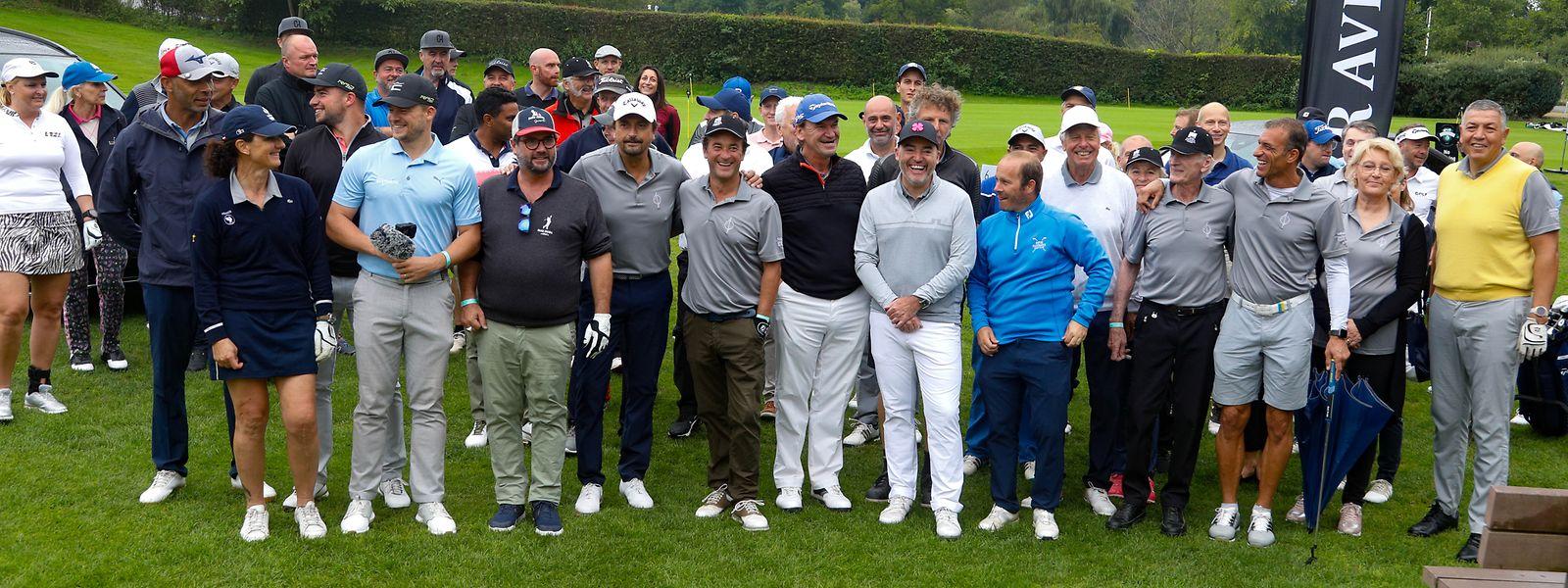 Im Kikuoka Country Club in Lenningen spielten Amateure und Prominente aus Sport und Medien gemeinsam Golf.