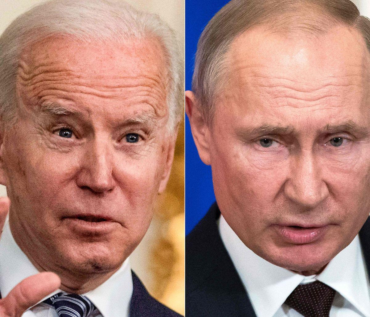Mit Spannung erwartet: das erste Treffen von Joe Biden (l.) und Wladimir Putin als Staatschefs.