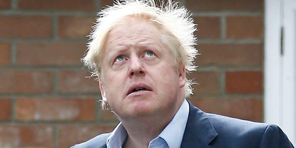 """Johnson verkündet seine """"Visionen"""" am Montag im """"Daily Telegraph""""."""