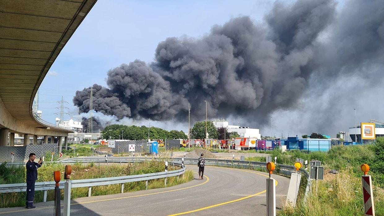Explosão em Leverkusen