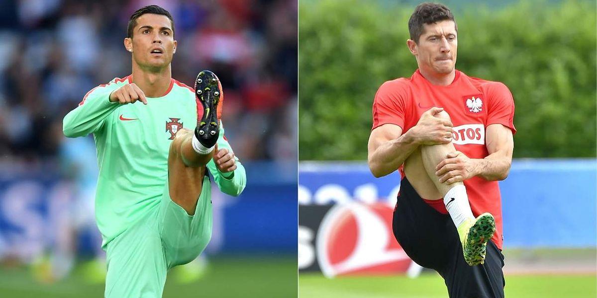 Cristiano Ronaldo - Robert Lewandowski: duel de stars, ce jeudi (21h) au stade Vélodrome de Marseille
