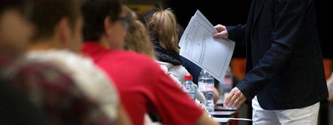 Die Abschlussexamen im Enseignement secondaire général werden 2019/20 an die im Classique angepasst.