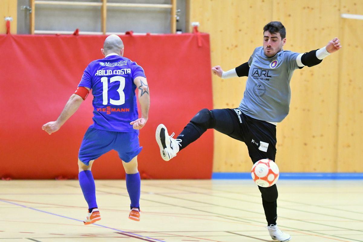 Tiago Fernandes, le gardien de l'AS Sparta Dudelange, s'est montré impérial face à l'US Esch.