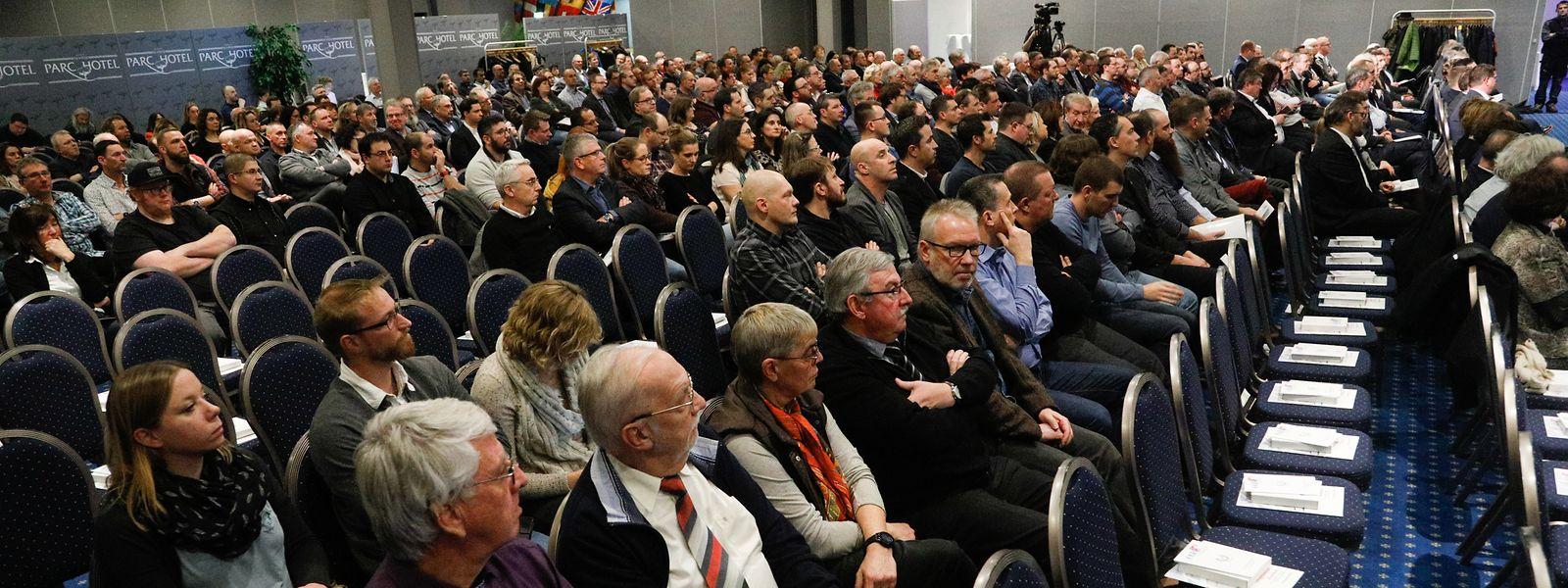 Près de 350 agents de l'Etat ont répondu présent, lundi soir à l'invitation de la CGFP qui fêtait ses 110 ans d'existence au Parc Hôtel Alvisse à Dommeldange.