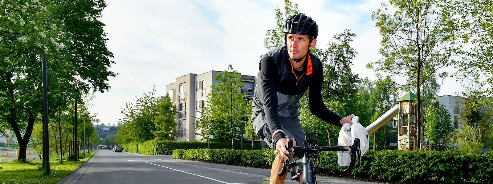 Fränk Schleck sitzt tagtäglich auf dem Fahrrad.