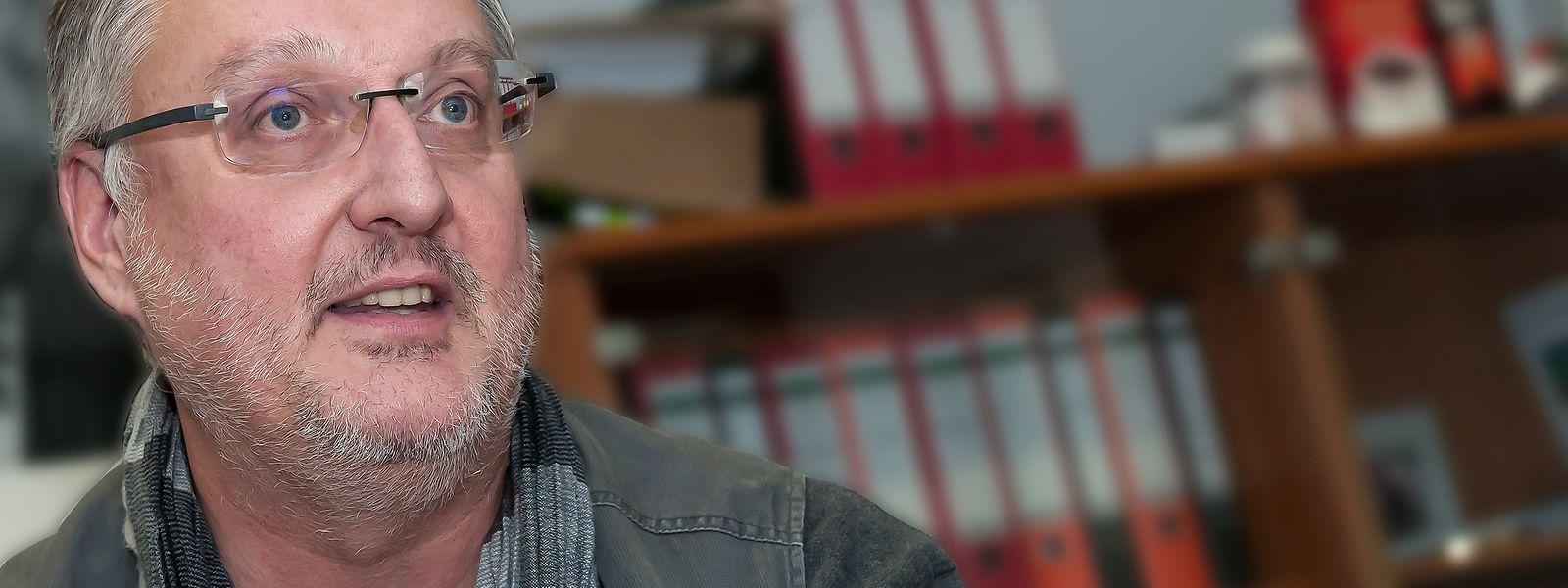 Inspection du travail et des Mines (ITM) in Strassen. Interview mit dem Direktor der Gewerbeinspektion Marco Boly. (Foto: Alain Piron)