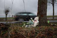 Lokales, Tödliche Unfälle 2018, gefährliche Strassenabschnitte, häufige Unfälle. hier: Strecke Troisvierges-Drinklange , N12.Foto: Gerry Huberty/Luxemburger Wort