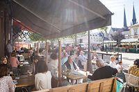 Wirtschaft, Wiedereröffnung Terrassen und Restaurants, Luxemburg, Covid-19, Corona, Horesca, Foto:Lex Kleren/Luxemburger Wort