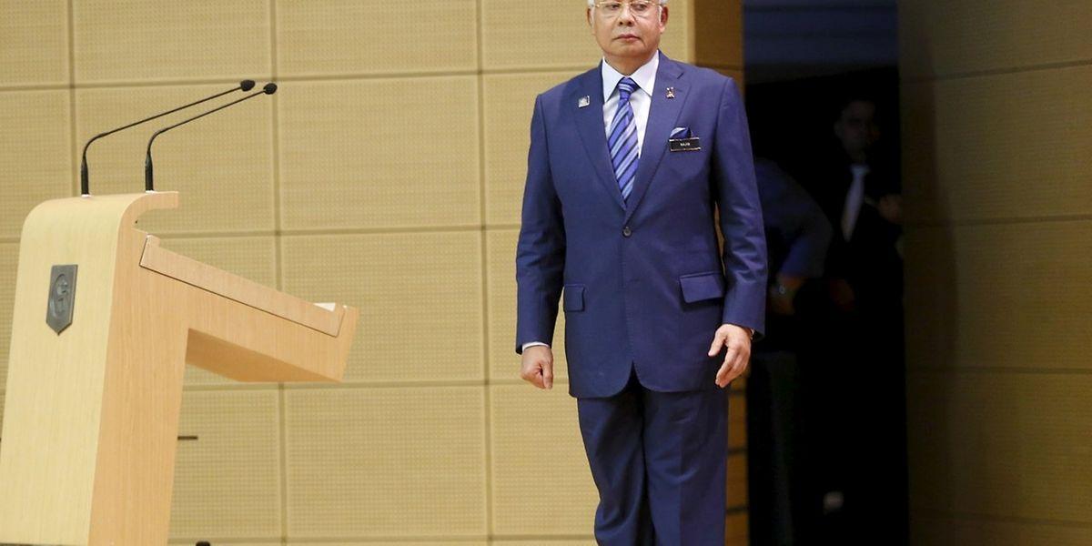 Le Premier ministre malaisien, Najib Razak, est soupçonné d'avoir bénéficié de certains détournements de fonds