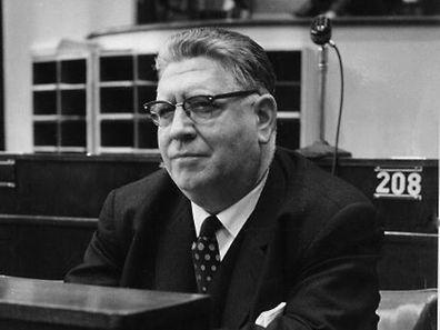 Der CSV-Abgeordnete Jos Lucius sprach schon 1972 im Europaparlament Luxemburgisch.