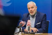 Pressekonferenz zum Jahresbericht 2019 der ITM, mit Marco Boly und Dan Kersch, Foto: Lex Kleren/Luxemburger Wort