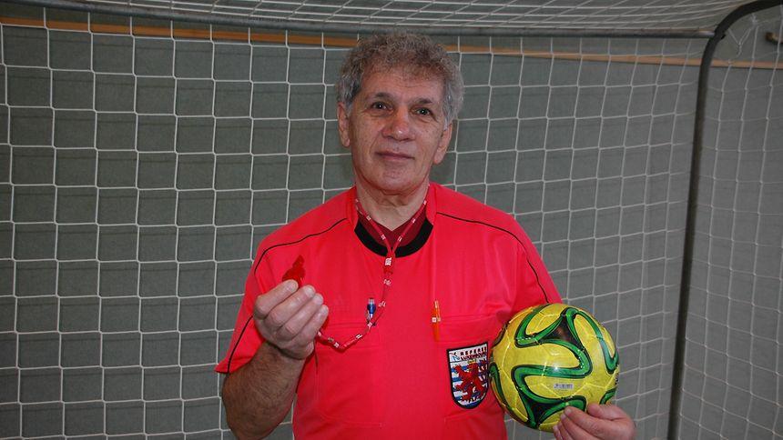 André Urbing: Seit über zwei Jahrzehnten spendet er alle Schiedsrichter-Honorare an MSF. Insgesamt bereits rund 172 000  Euro.