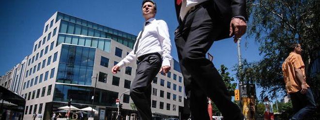 Die Gehälter am Finanzplatz liegen im Schnitt über jenen im öffentlichen Sektor.
