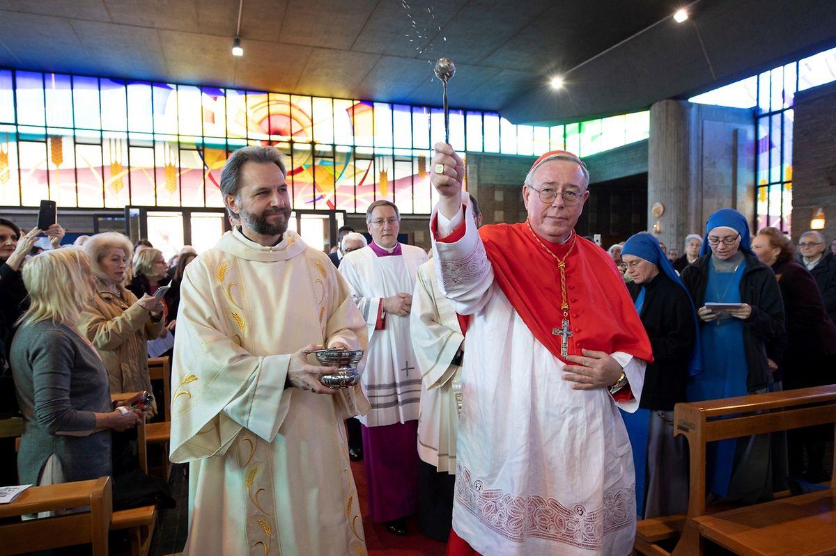 Der direkte Kontakt zu den Gläubigen wird für den Luxemburger Kardinal in den kommenden Wochen fehlen.