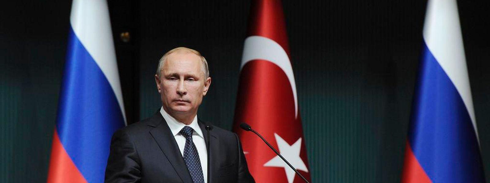 Wladimir Putin will das Prestigeprojekt South Stream nun doch nicht mehr bauen.