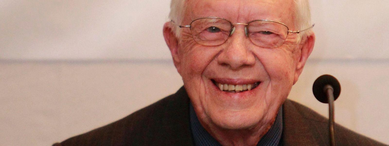 Jimmy Carter leidet seit Jahren an Krebs.