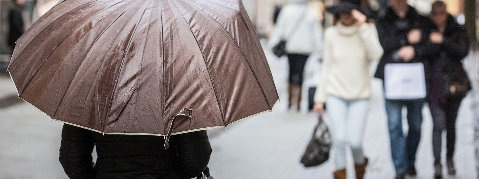 Am Samstag und Sonntag präsentiert sich das Wetter in Luxemburg großteils schmuddelig.