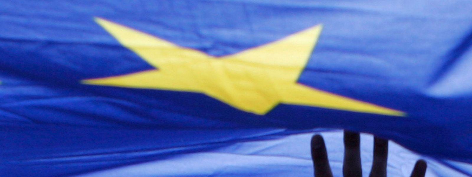 """""""Ich fühle mich als Europäer"""": Dieser Aussage stimmten 90 Prozent aller Befragten aus Luxemburg zu."""