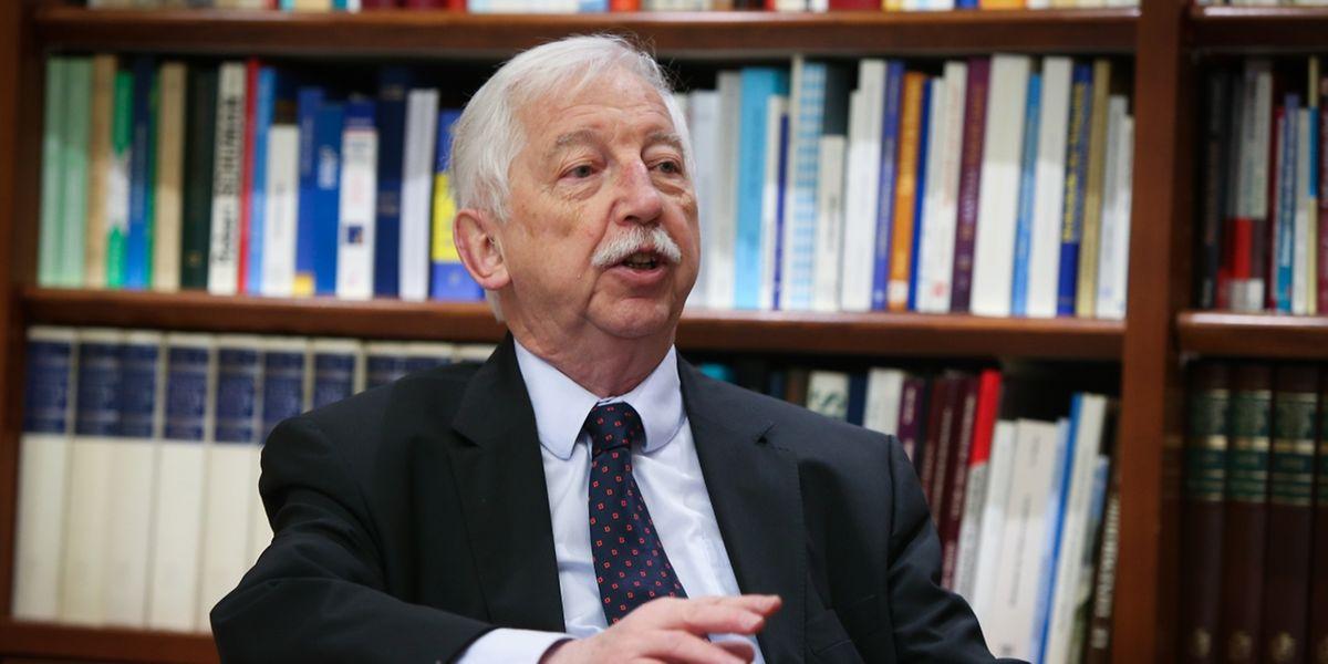 """Albert Hansen, Präsident des """"Comité pour la mémoire"""""""