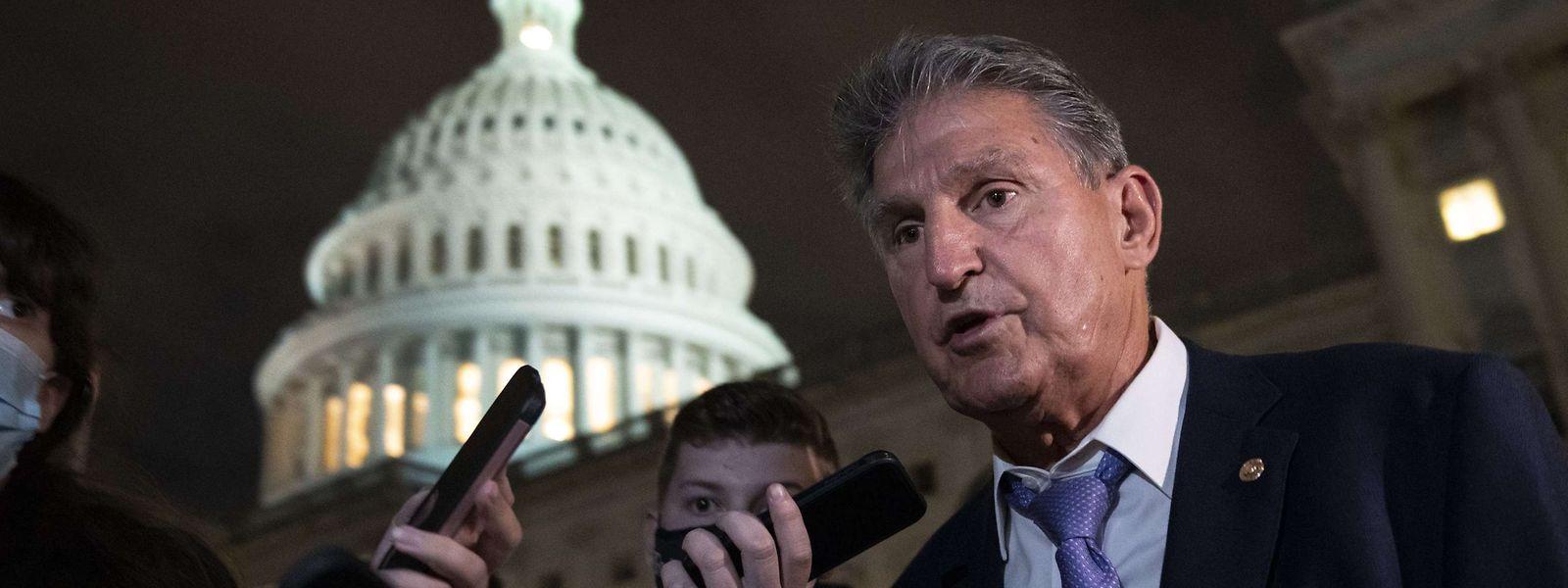 Der demokratische Senator Joe Manchin ist einer von zwei Demokraten, die seit Monaten wichtige Gesetzvorhaben seiner eigenen Partei blockieren.