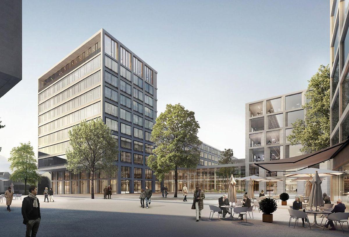 La future Cité de la sécurité sociale.